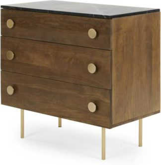 An Image of Marion Chest of Drawers, Marble