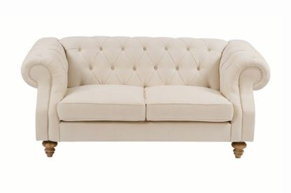 An Image of Buster 2 seat sofa Putty