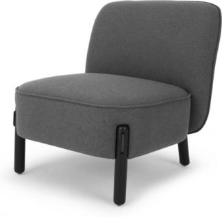 An Image of Ori Accent Armchair, Marl Grey