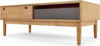 An Image of Campton Storage Coffee Table, Oak