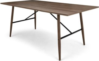 An Image of Milford Dining Table, Walnut