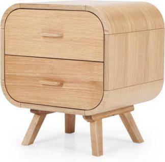 An Image of Fonteyn Bedside Table, Oak