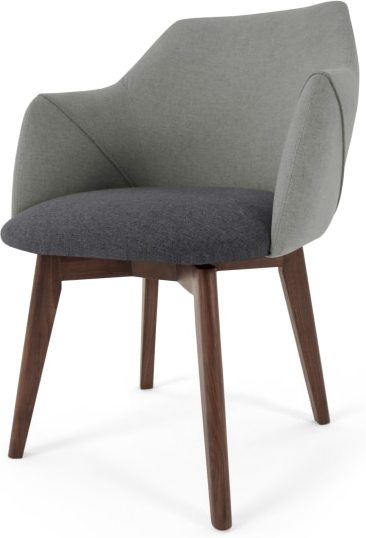 An Image of Lule Office Chair, Marl grey and Hail Grey