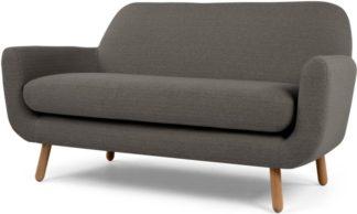 An Image of Jonah 2 Seater Sofa, Stone Grey
