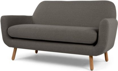 An Image of Jonah 2 Seater Sofa, Stone Grey