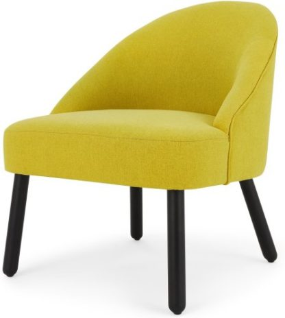 An Image of MADE Essentials Nial Accent Chair, Chartreuse