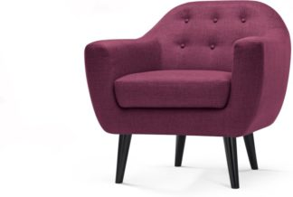 An Image of Ritchie Armchair, Plum Purple