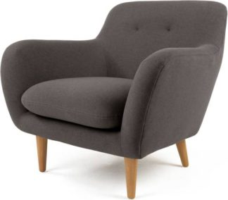 An Image of Dylan Armchair, Marl Grey