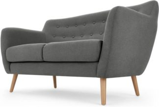 An Image of Rana 2 Seater Sofa, Marl Grey