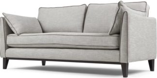 An Image of Content by Terence Conran Keston 3 Seater Sofa, Luna Silver