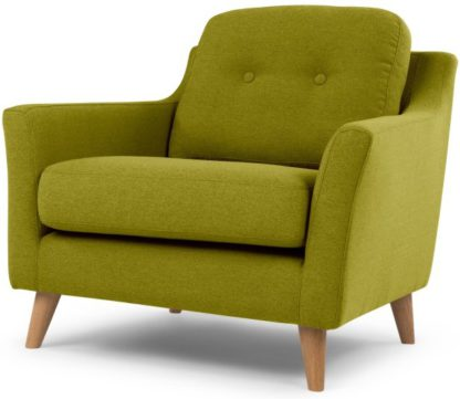 An Image of Rufus Armchair, Leaf Green