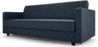 An Image of Chou Click Clack Sofa Bed with Storage, Quartz Blue