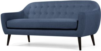 An Image of Ritchie 3 Seater Sofa, Scuba Blue