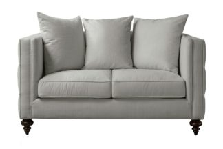 An Image of Ascot two Seat Sofa – Dove Grey