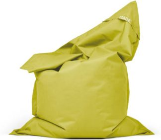 An Image of MADE Essentials Small Piggy Bag, Chartreuse