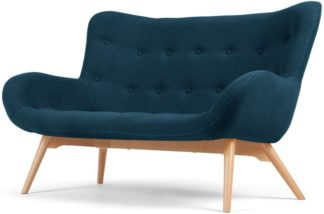 An Image of Doris 2 Seater Sofa, Shetland Navy