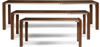 An Image of Bramante 6-12 Seat Extending Dining Table, Walnut