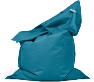 An Image of MADE Essentials Small Piggy Bag, Urban Teal