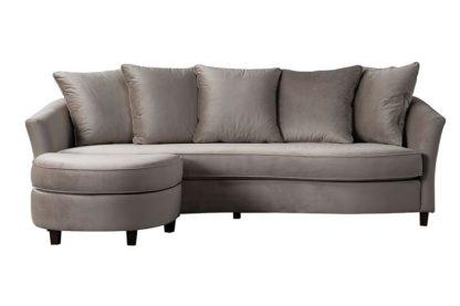 An Image of Morgan Three Seat Corner Sofa - Taupe