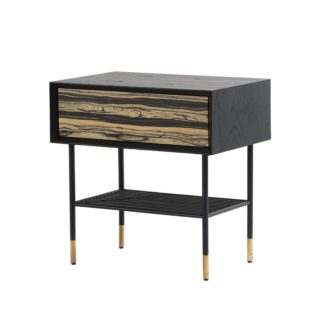 An Image of Papillon Bedside Table