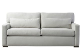 An Image of Slater Three Seat Sofa - Dove Grey