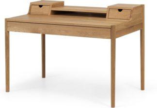 An Image of Leonie Wide Desk, Oak