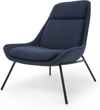 An Image of Eero Accent Chair, Flavio Blue