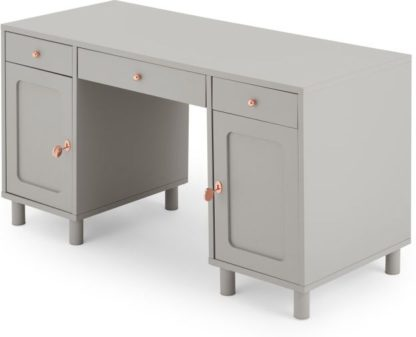 An Image of Quin Desk, Grey