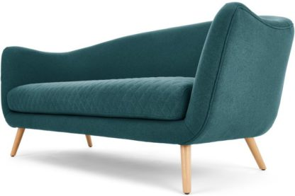 An Image of Flick 3 Seater Sofa, Mineral Blue