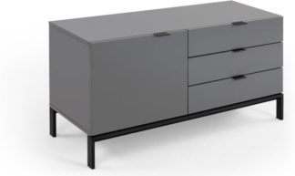 An Image of Marcell Compact Sideboard, Grey
