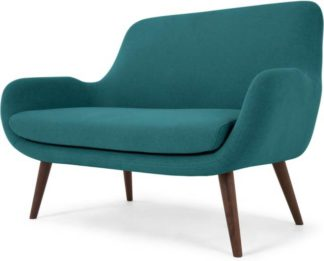 An Image of Moby 2 Seater Sofa, Mineral Blue
