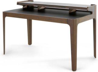 An Image of Zeke Desk, Walnut and Black