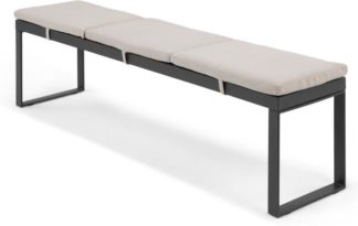 An Image of Catania Large Garden Dining Bench, Polywood