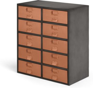 An Image of Stow Large Storage Unit, Copper