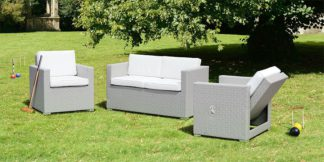 An Image of Cubo Grey Lounge Set