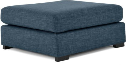An Image of Mortimer Modular Ottoman, Harbour Blue