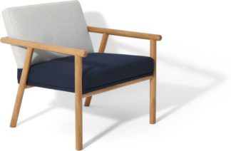 An Image of Quiet Accent Armchair, Elite Navy