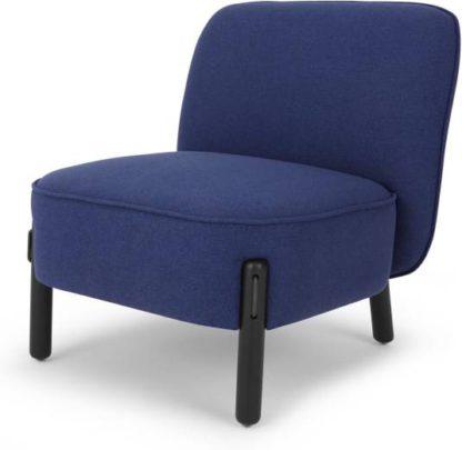 An Image of Ori Accent Armchair, Cobalt Blue