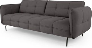 An Image of Maverick 3 Seater Sofa, Rhino Grey