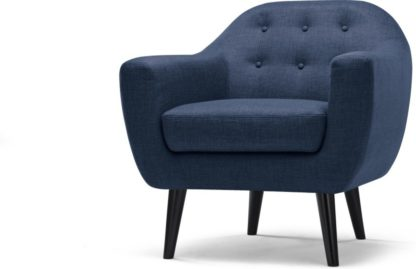 An Image of Ritchie Armchair, Scuba Blue