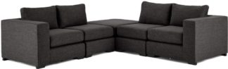 An Image of Mortimer Modular Corner Sofa Group, Seal Grey
