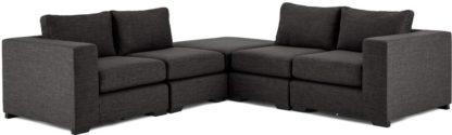 An Image of Mortimer Modular Corner Sofa Group, Seal Grey