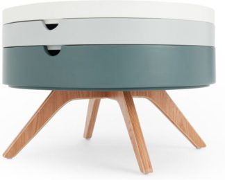 An Image of Cairn Coffee Table, Tonal Grey