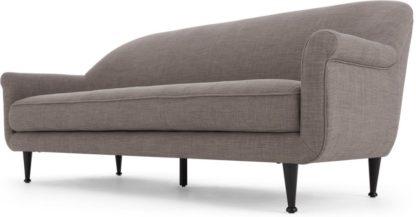 An Image of Jaina 3 Seater Sofa, Pewter Grey