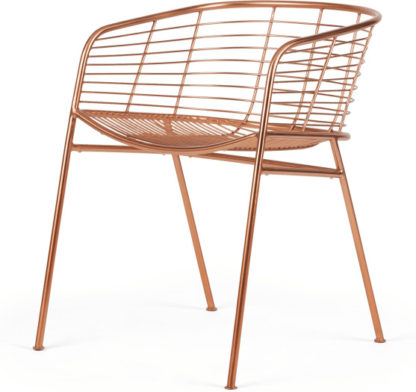 An Image of Alessio Carver Chair, Copper