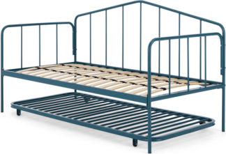 An Image of MADE Essentials Sammy Guest Bed, Teal