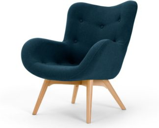An Image of Doris Accent Armchair, Shetland Navy