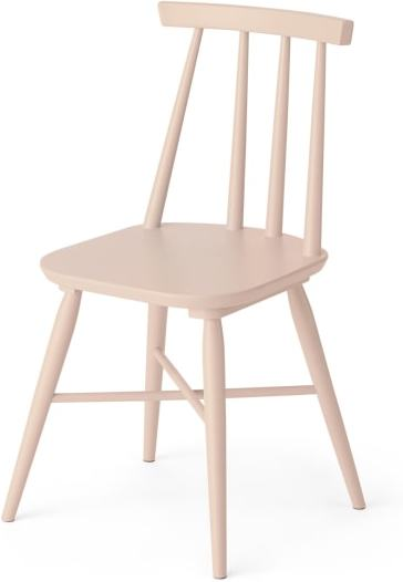 An Image of Bromley Dining chair, Pink