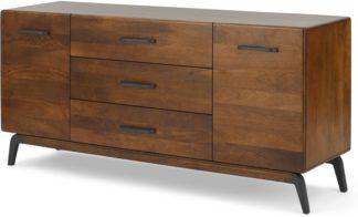 An Image of Lucien large sideboard, Dark Mango Wood