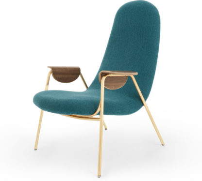 An Image of Drew Accent Chair, Ocean Teal